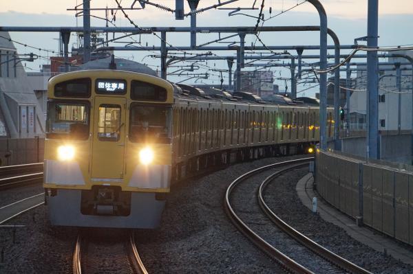 2016-11-12 西武2083F 団体専用2