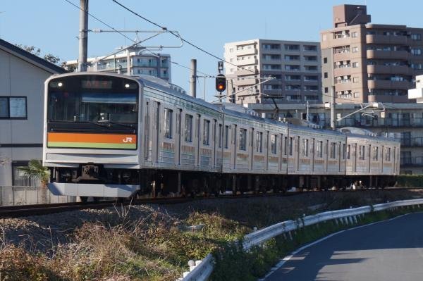 2016-11-12 八高線205系ハエ84編成 八王子行き