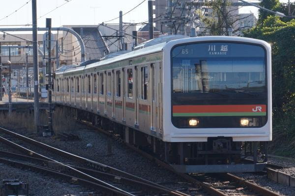 2016-11-12 八高線209系ハエ64編成 川越行き