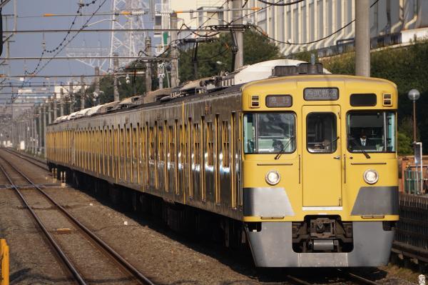 2016-11-13 西武2031F_2517F 急行西武新宿行き 2676レ