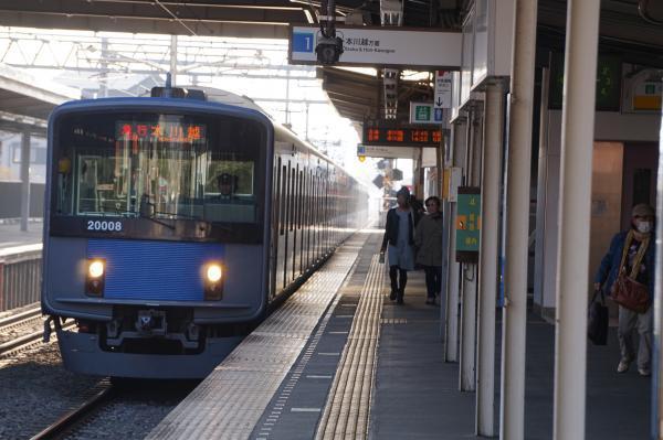2016-11-13 西武20108F 急行本川越行き 2663レ