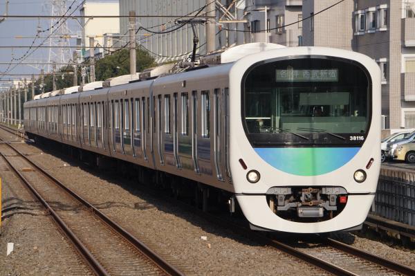 2016-11-13 西武38116F 各停西武新宿行き 5622レ