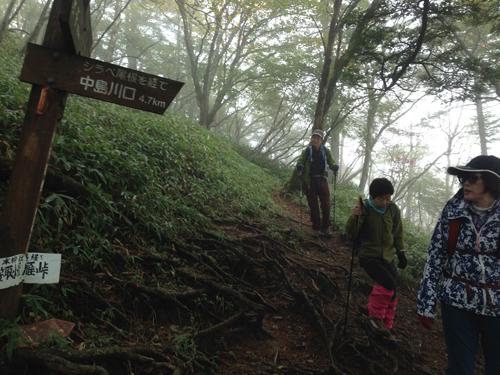 16101112笠取山