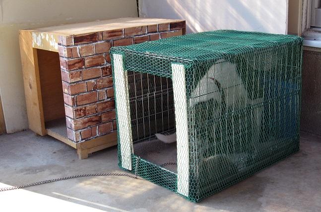 夏用犬小屋