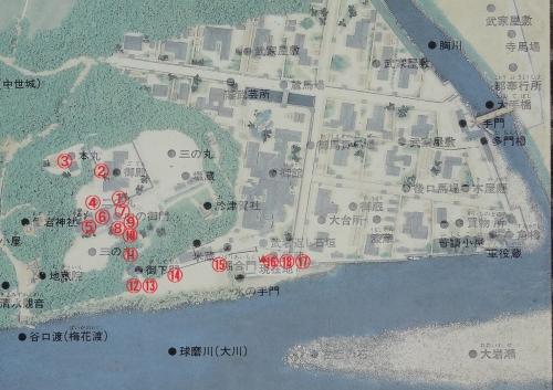 人吉城MAP2