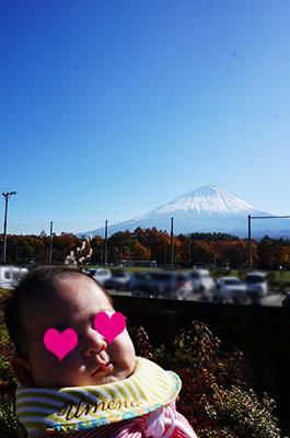 うめと富士山