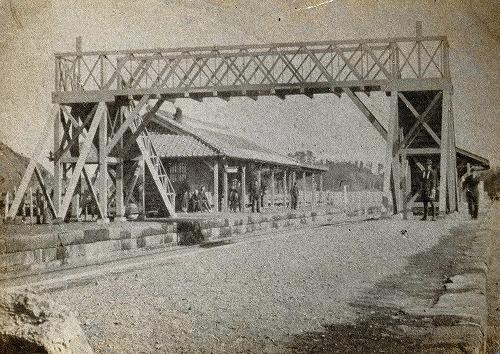 1:旧大船駅-明治後期