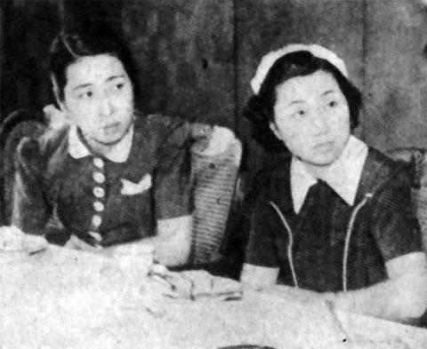 加賀松乃・室町良子1941july