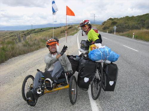 ①ニュージーランド南島:島を縦断一人旅の車椅子サイクリスト_R