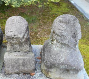 与賀神社・肥前狛犬