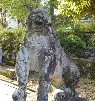 与賀神社・吽