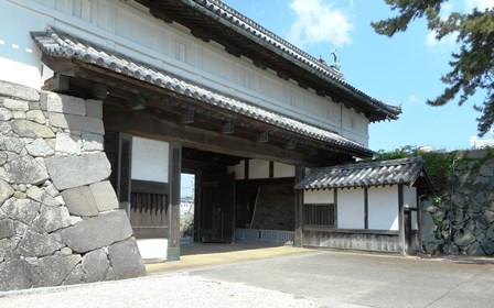 佐賀城2・鯱の門裏