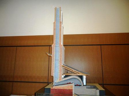 佐賀城9・反射炉模型