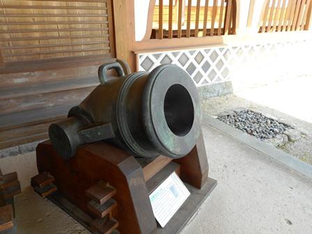 佐賀城11・大砲