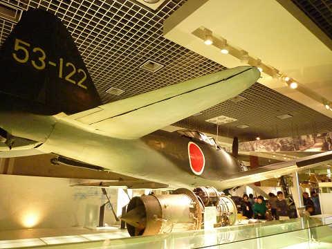 ゼロ戦 国立科学博物館 二一型