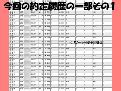 20161113【デモ】ループ・イフダン検証ブログ約定履歴