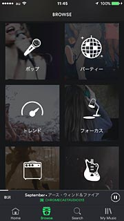 iPhone 6_Spotify_screen