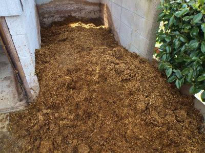 4.16堆肥が来た