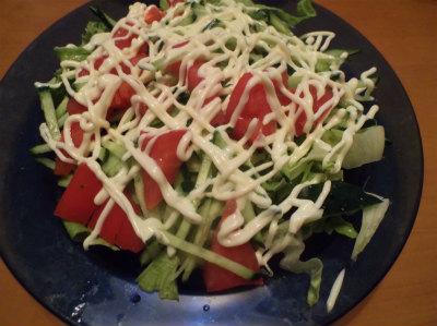 4.29簡単サラダ