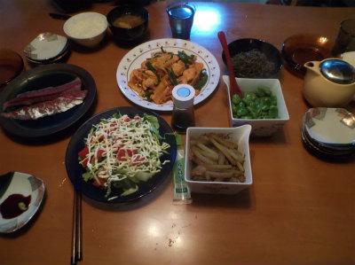 4.29夕食