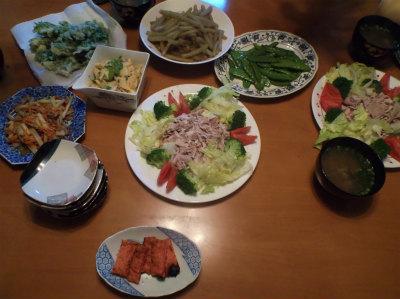 5.4夕食