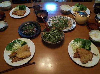 5.7夕食