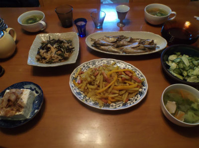 5.8夕食