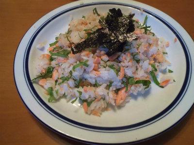 5.16鮭ご飯