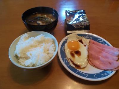 5.16オッサンの朝ご飯