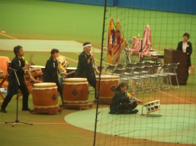 5.20歓迎の太鼓