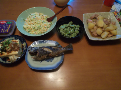 5.23夕食