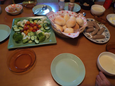 6.3夕食