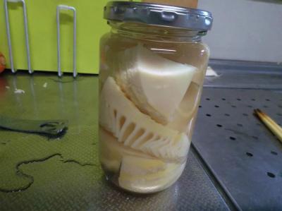6.4自家製筍の水煮