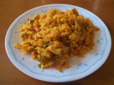 6.18カレー炒飯