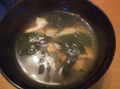 6.19大根、若芽、揚げの味噌汁
