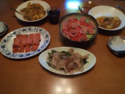 6.22晩飯