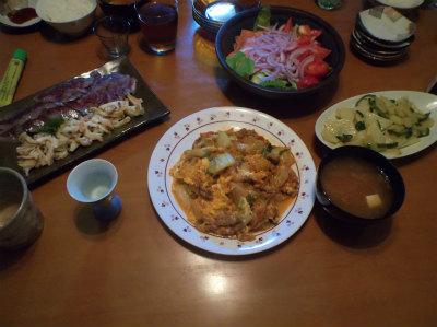 7.2夕食