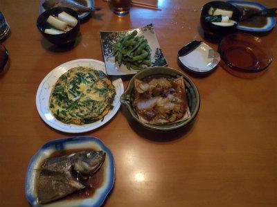 7.6夕食