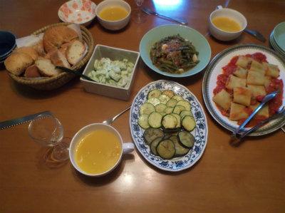 7.17夕食