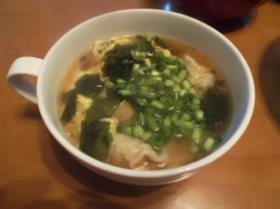 8.11ワンタンのスープ