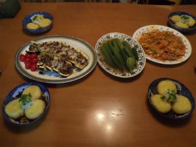 8.15夕食