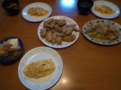 8.21夕食