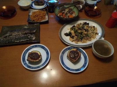 8.27夕食