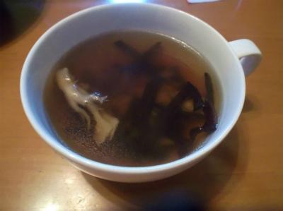 9.3木耳と舞茸のスープ
