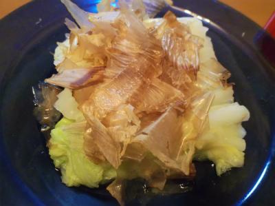 9.4白菜のお浸し