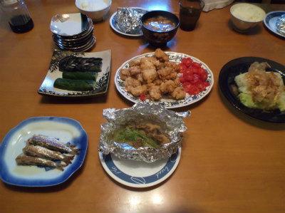 9.4夕食
