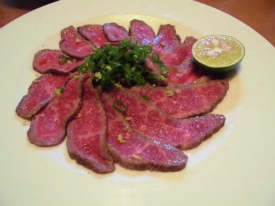 9.26牛肉の炙り1