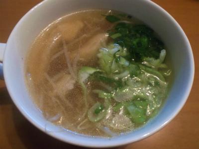 10.2モヤシスープ