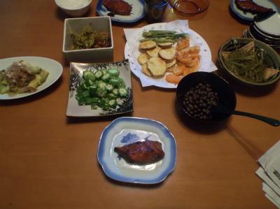 10.7夕食