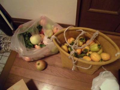10.8貰ったリンゴ2